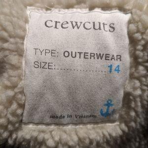 Crewcuts Sherpa lined jacket